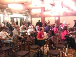 The crowd in Atlanta, GA - 11.13.13