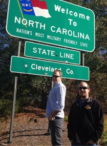 Doc and Skip in North Carolina - 11.14.13
