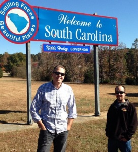 Doc and Skip in South Carolina - 11.14.13