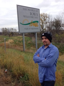 Skip in Iowa on the way from Omaha to Sioux Falls
