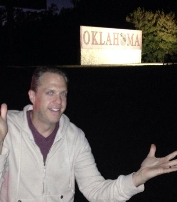 Made it to Oklahoma!