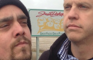 "Skip and Doc in South Dakota - ""Great Faces, Great Places"""
