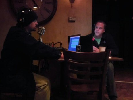 Doc and Skip broadcast in Chanhassen, MN at The School II Bistro and Wine Bar - 11.8.13