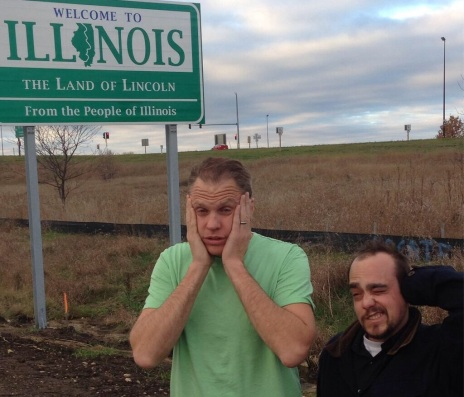 Doc and Skip make it to Illinois after a long night on the road.