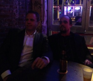Doc and Skip in Memphis at a Blues Bar - 11.11.13