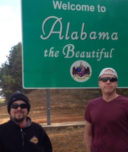 Skip and Doc in Alabama - 11.12.13
