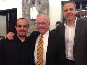 Skip and Doc with Bob Barr in Birmingham, AL - 11.12.13