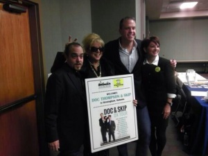 Doc and Skip with Robyn Walensky in Birmingham, AL - 11.12.13